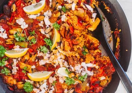 spanien paella