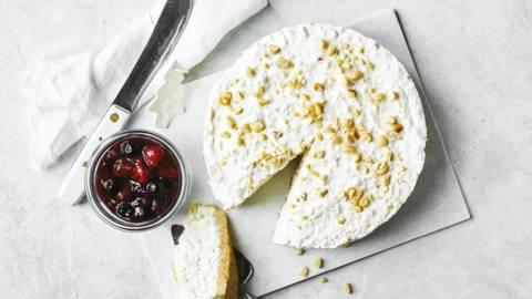 Cheesecake af risalamande