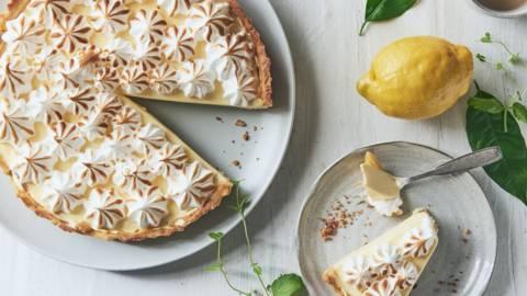 Tarte au citron (citroncremetærte)
