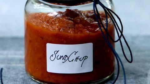 Chup - hjemmelavet ketchup