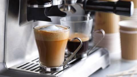 Latte macchiato med vanilje