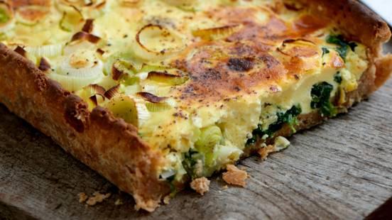 Grønsagstærte