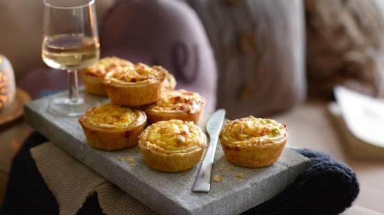 Små tærter med ærter