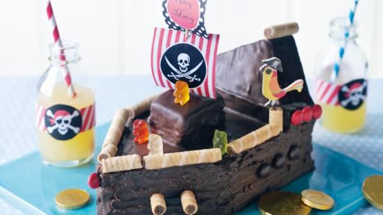 Piratskib (chokoladekage)