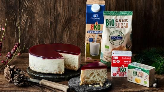 Risalamande-cheesecake