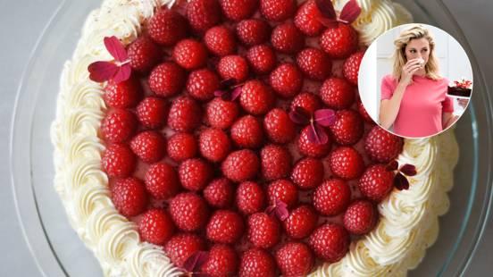 Hindbærlagkage