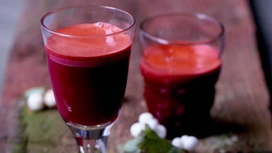 Ingefær- og gulerodsjuice