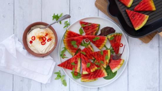 Grillet vandmelon