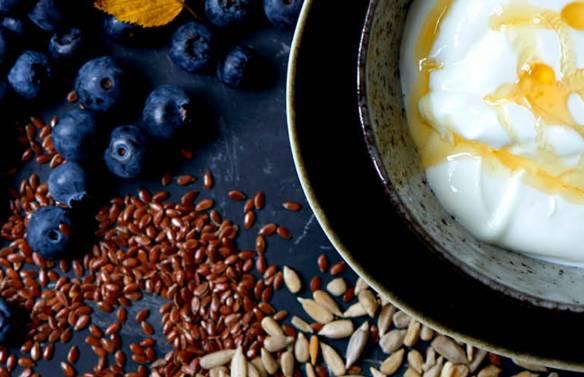 Hero morgenmad Blåbæryoghurt