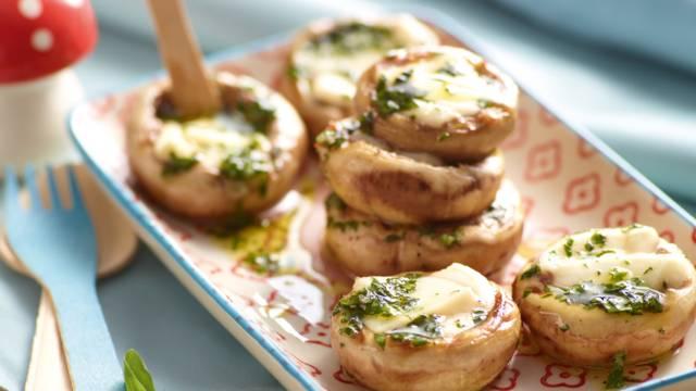 Mozzarella-svampe