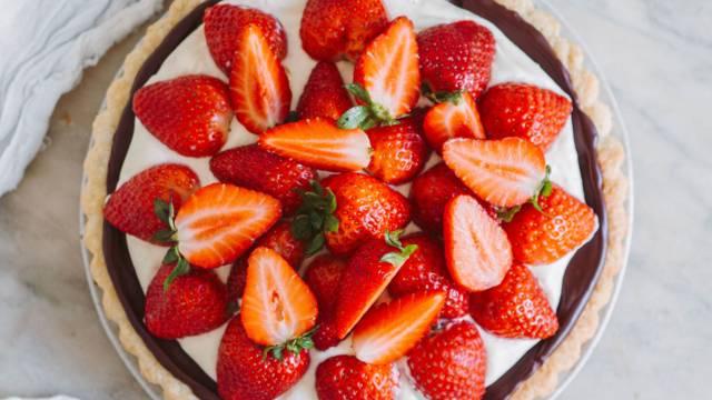 Opskrift på jordbærtærte fra Lidl