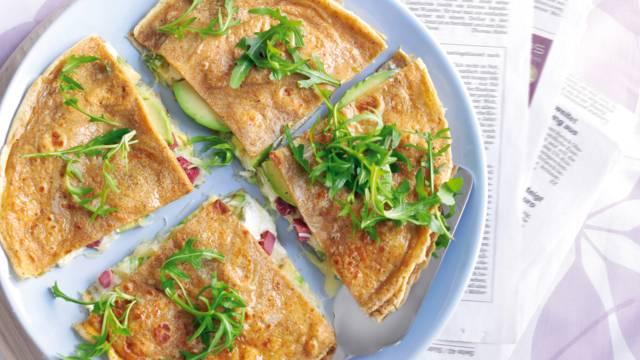 Avokado-quesadillas