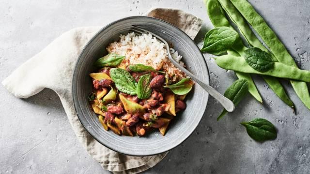 Opskrift på Rice 'n' beans fra Lidl