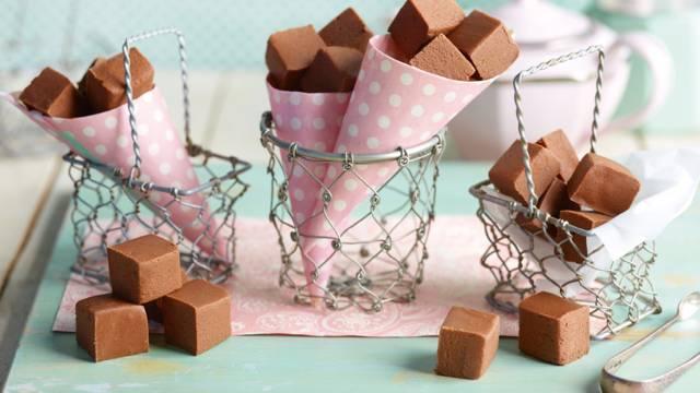 Espresso-chokoladefudge
