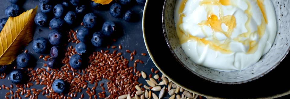 Blåbæryoghurt
