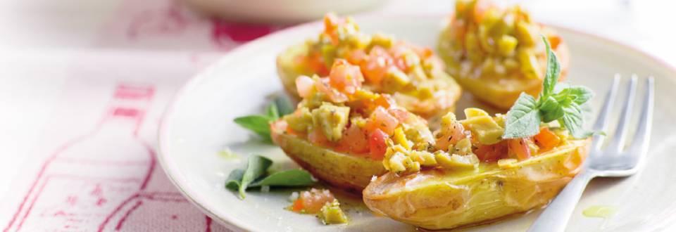 Ovnkartofler med tomat -og oliventapanade