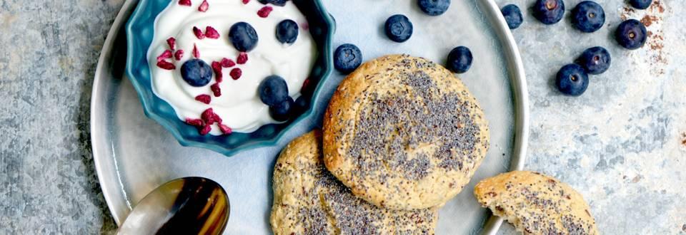Morgenbrød uden mel, stivelse og gluten