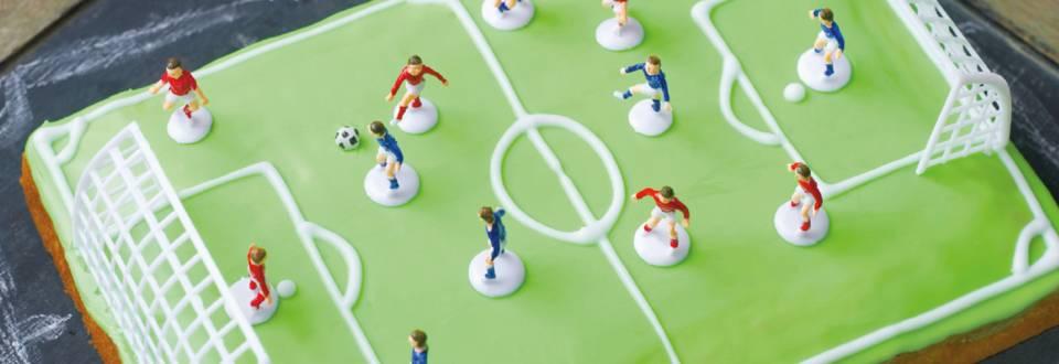 Fodboldbanekage