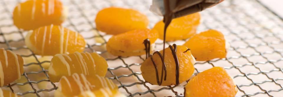 Chokolade med abrikos