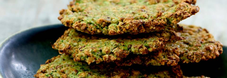 Broccolibrød med pålæg