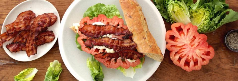 Opskrift på BLT-sandwich fra Lidl