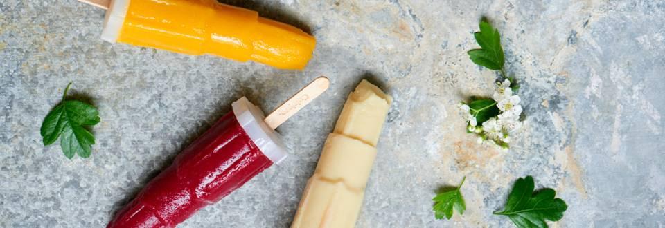 Super sund sommeris! Det bliver ikke nemmere at have sunde, hjemmelavede is klar på de varme sommerdage.