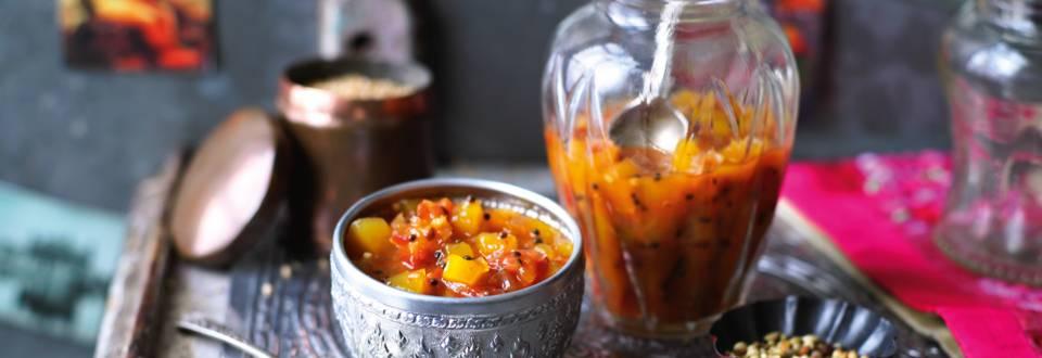 Tomat- og mangochutney