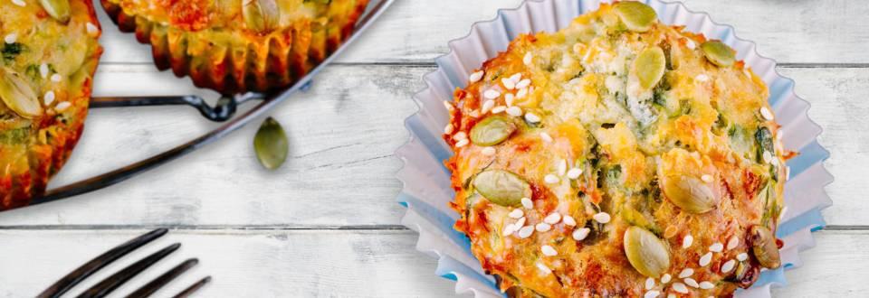 Kyllingemuffins til børnenes madpakker eller aftensmad