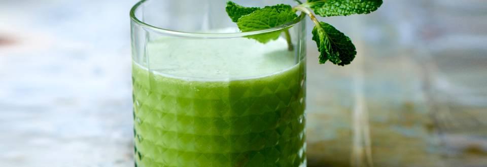 Fennikel- og æblejuice