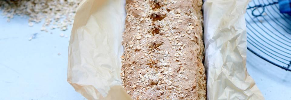 Sandwichbrød med havre