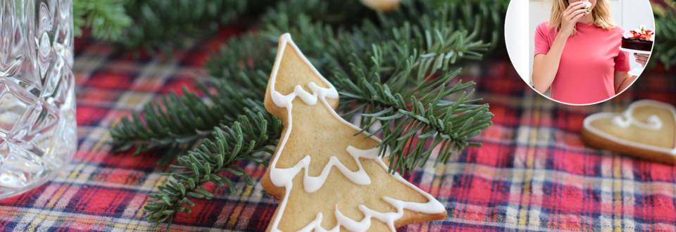 Smørbagte småkager med vanilje og kanel