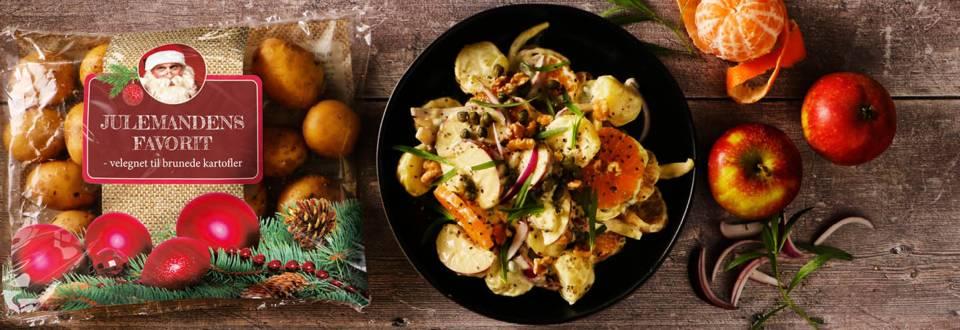 Julemandens favoritkartoffelsalat