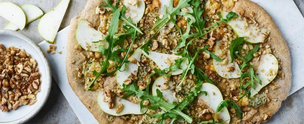 Pizza med blåskimmel
